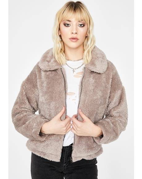 Cozy Up Faux Fur Jacket