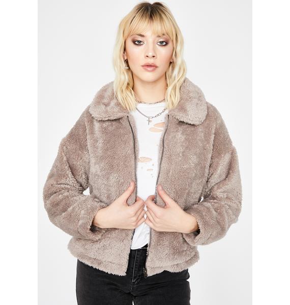 Cozy Up Faux Fur Jacket