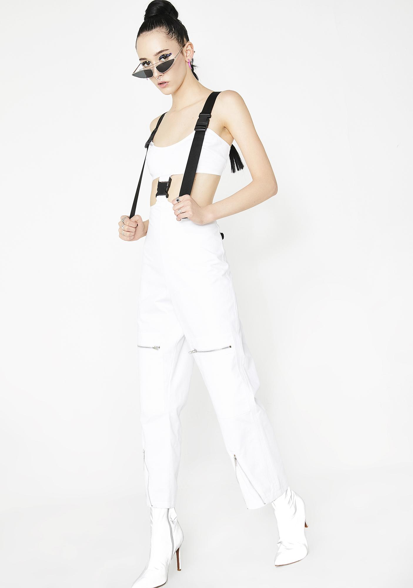 863d7e542ce ... Jaded London White Cut Out Cargo Jumpsuit ...