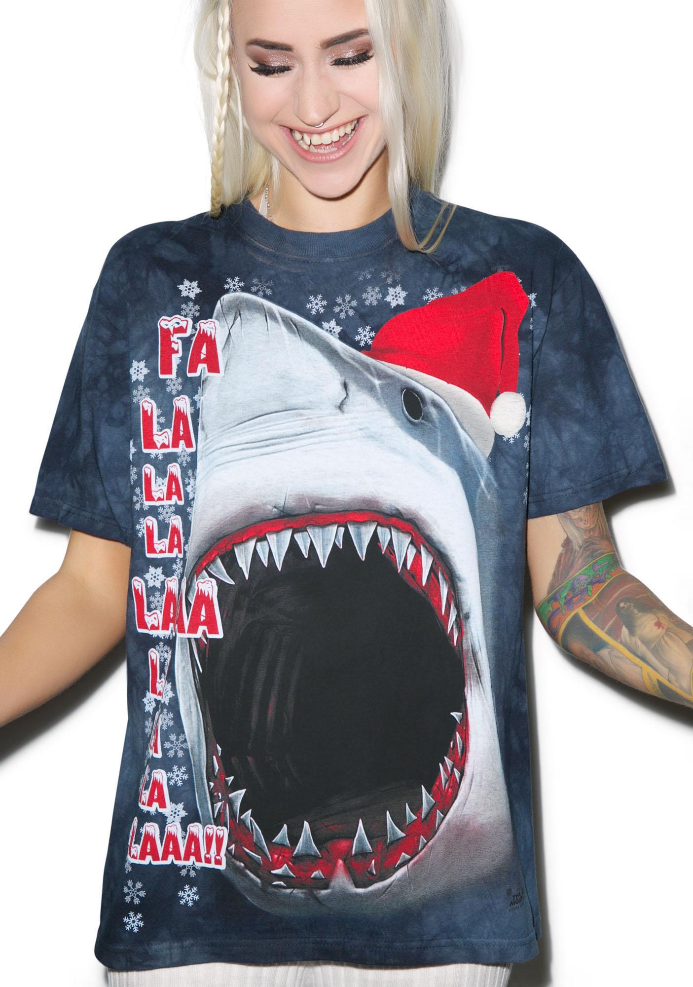 Xmas Shark Tee