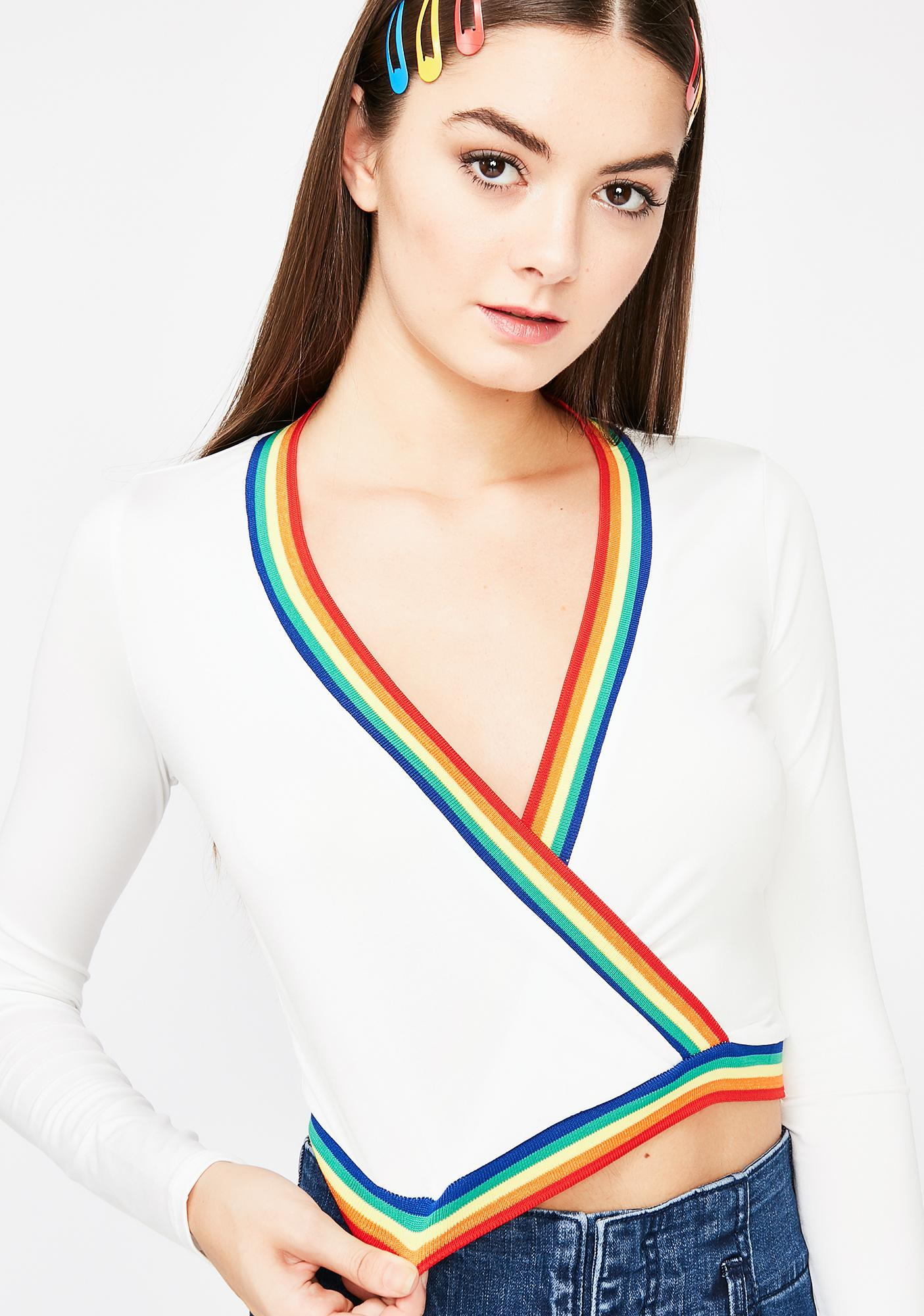 Taste My Rainbow Crop Top