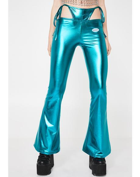 Aqua Bratitude Attitude G-String Pants