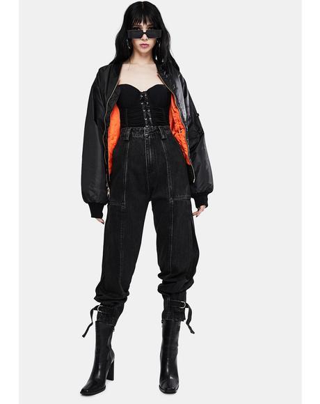 Black Jolie High Waist Jeans