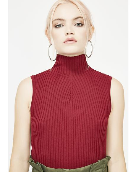 Lit Sovereign Sass Turtleneck Top