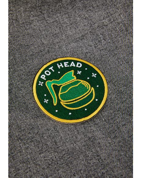 Pot Head Patch