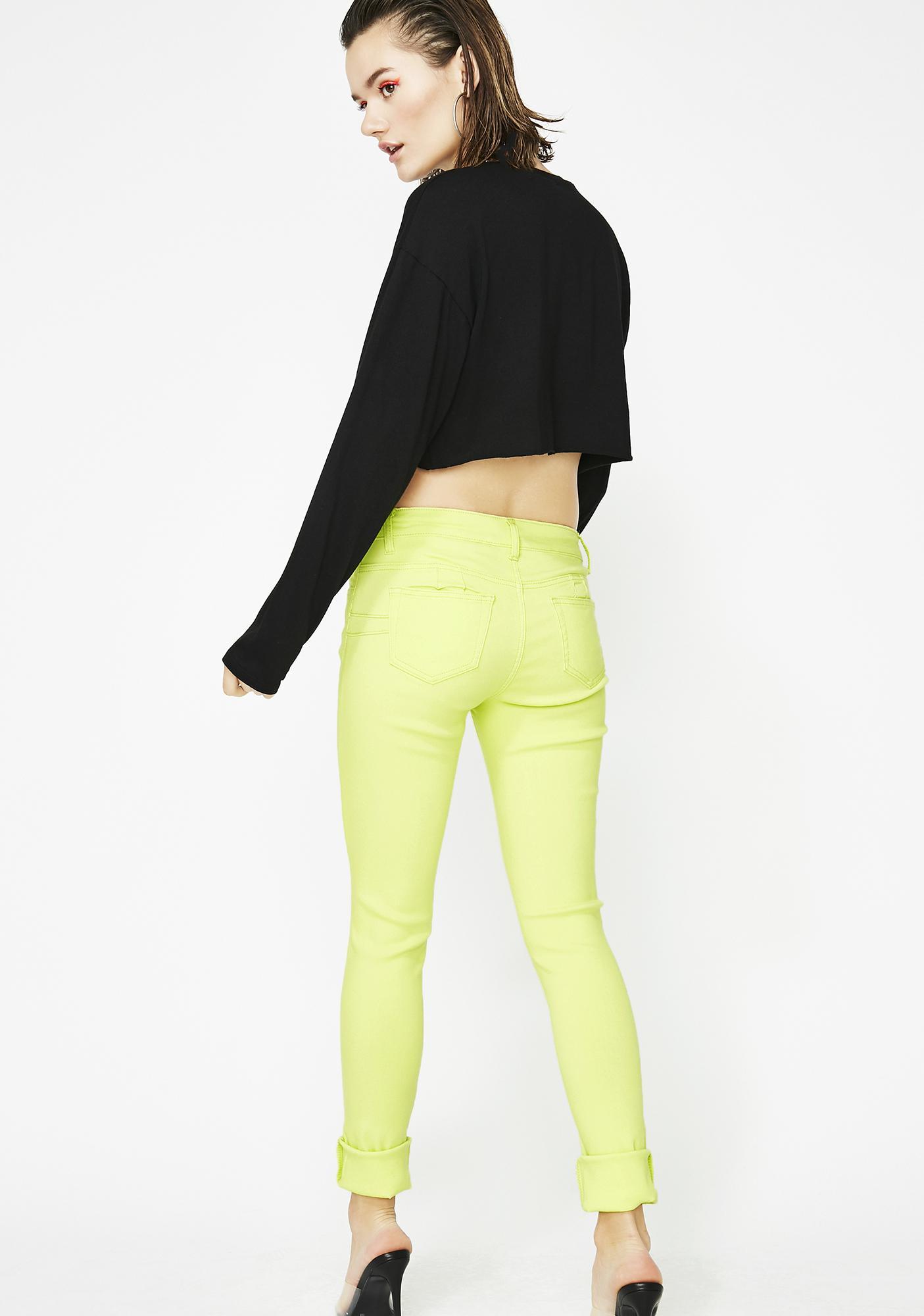 Neon Demon Skinny Jeans