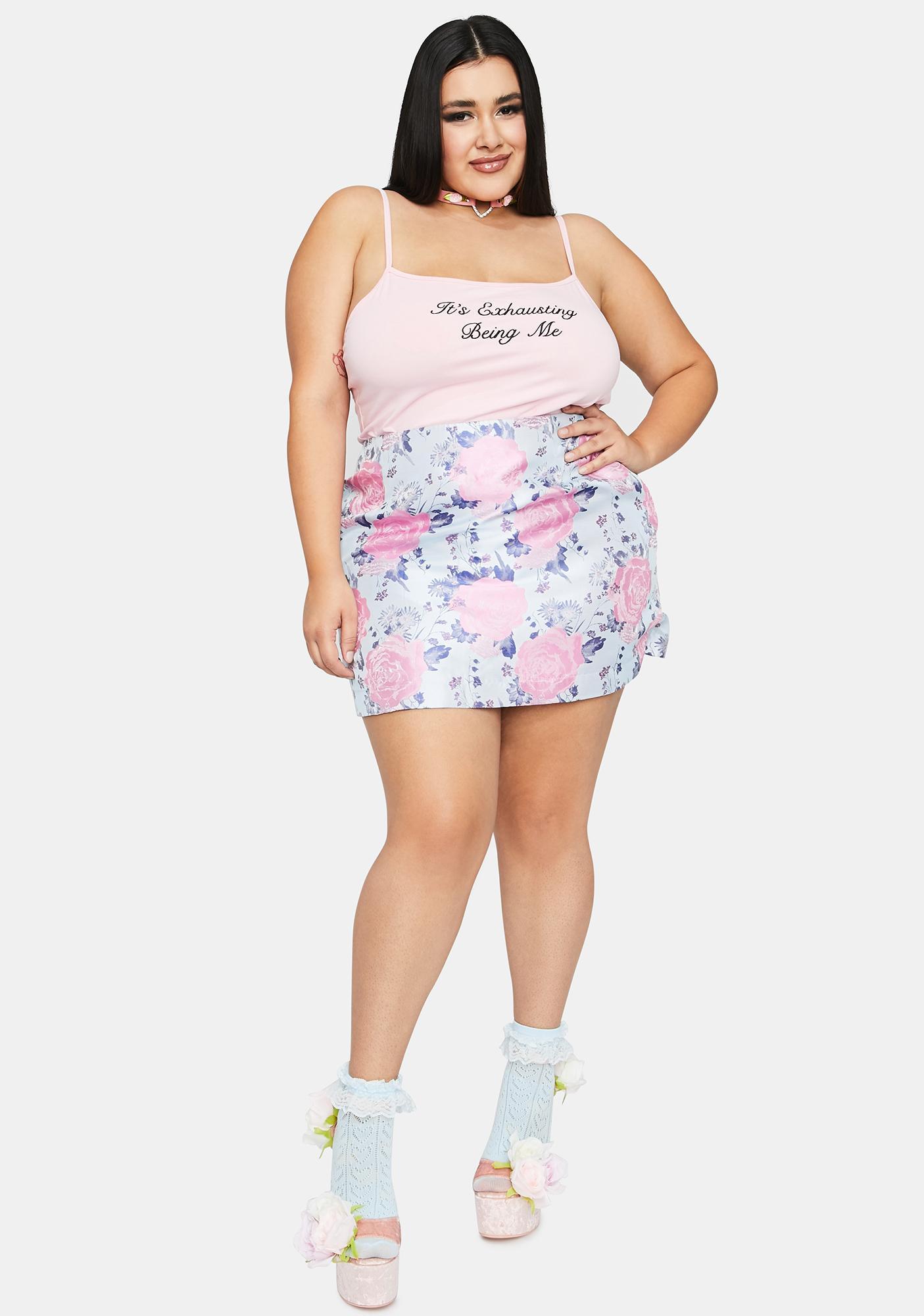 Sugar Thrillz Always Garden Grown Mini Skirt