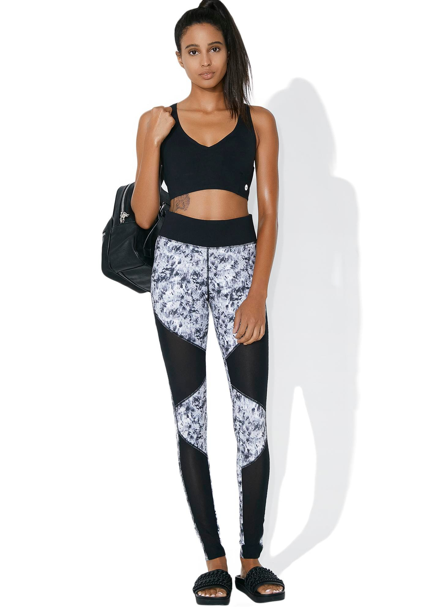 Feel The Burn Mesh Leggings