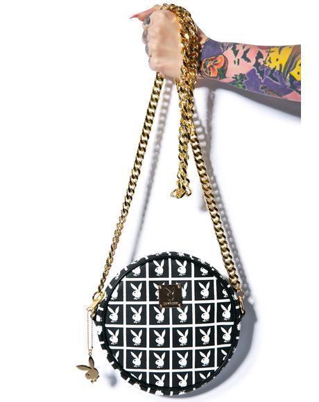 X Playboy Panel Pochette Crossbody Bag
