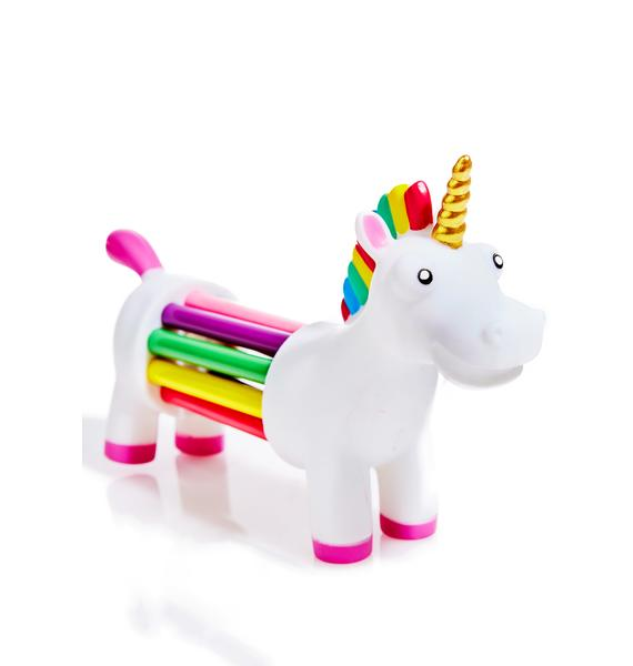 Unicorn Of Rainbow Pencils Set