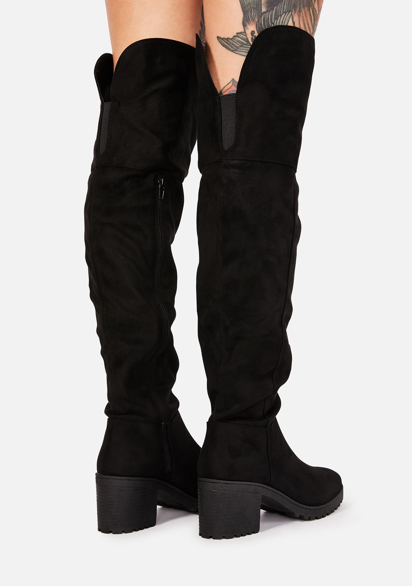 Rude Grl Suede Boots