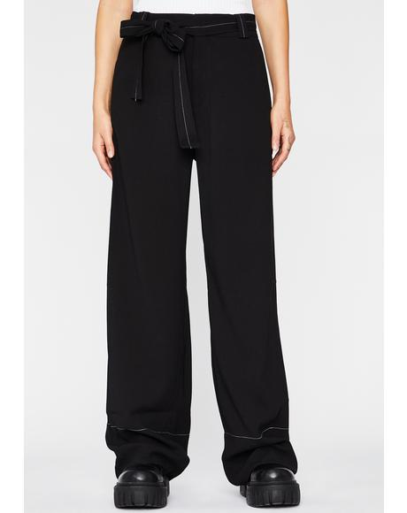 Tomboy Chic Wide Leg Pants