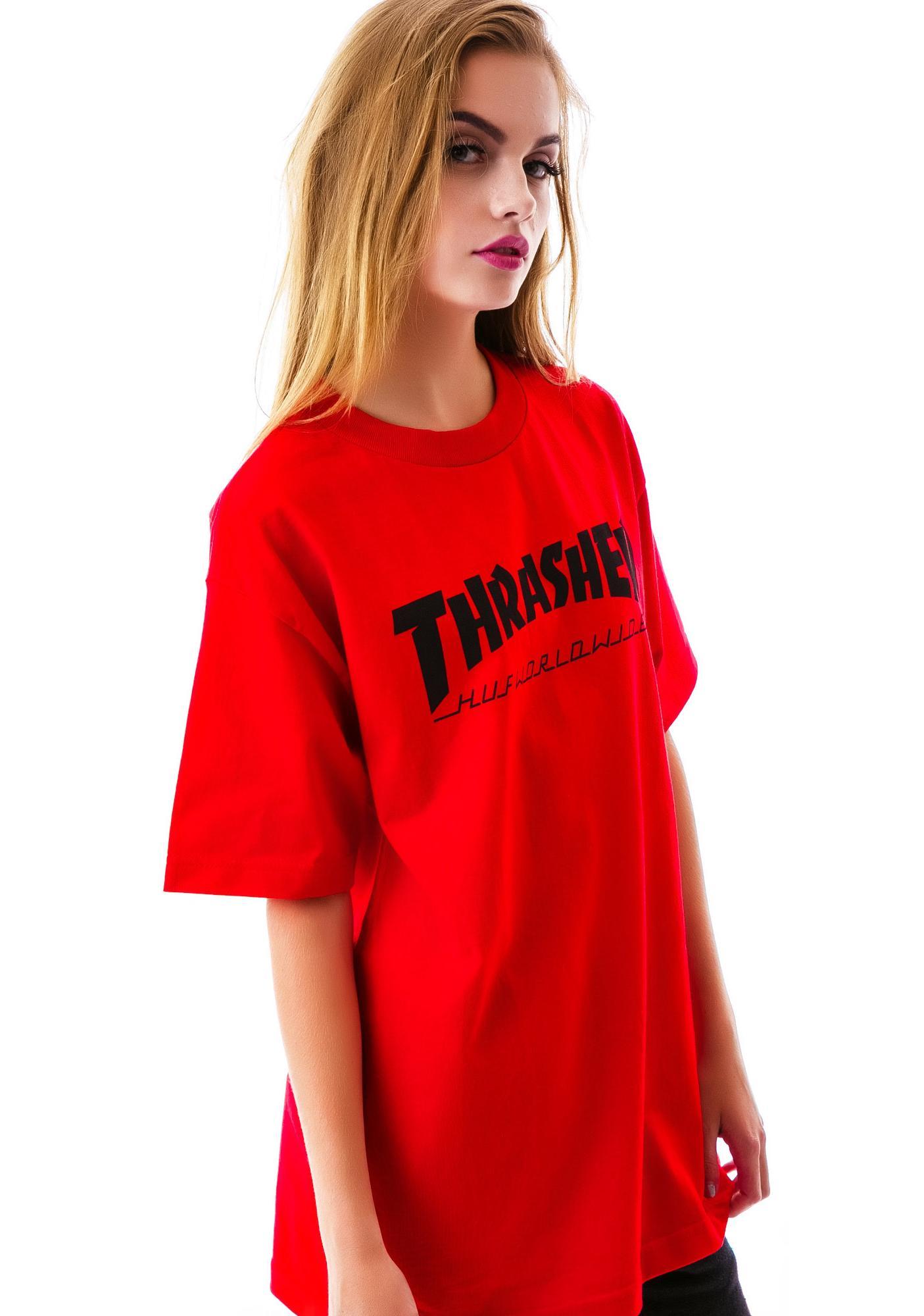 HUF x Thrasher Tour Tee