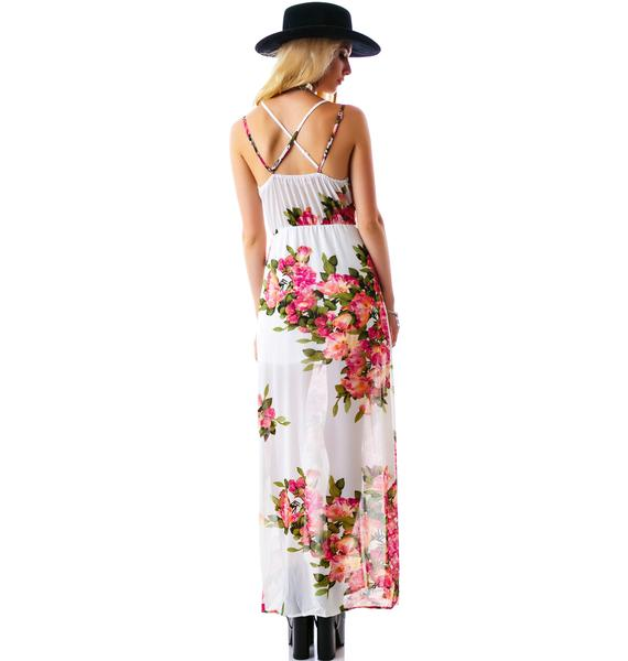 Not So Secret Garden Maxi Dress