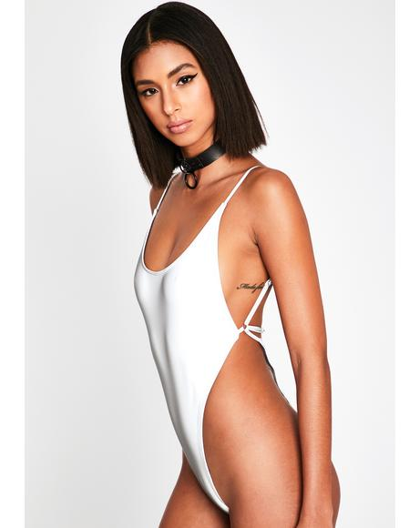 Wave Dimension Reflective Swimsuit
