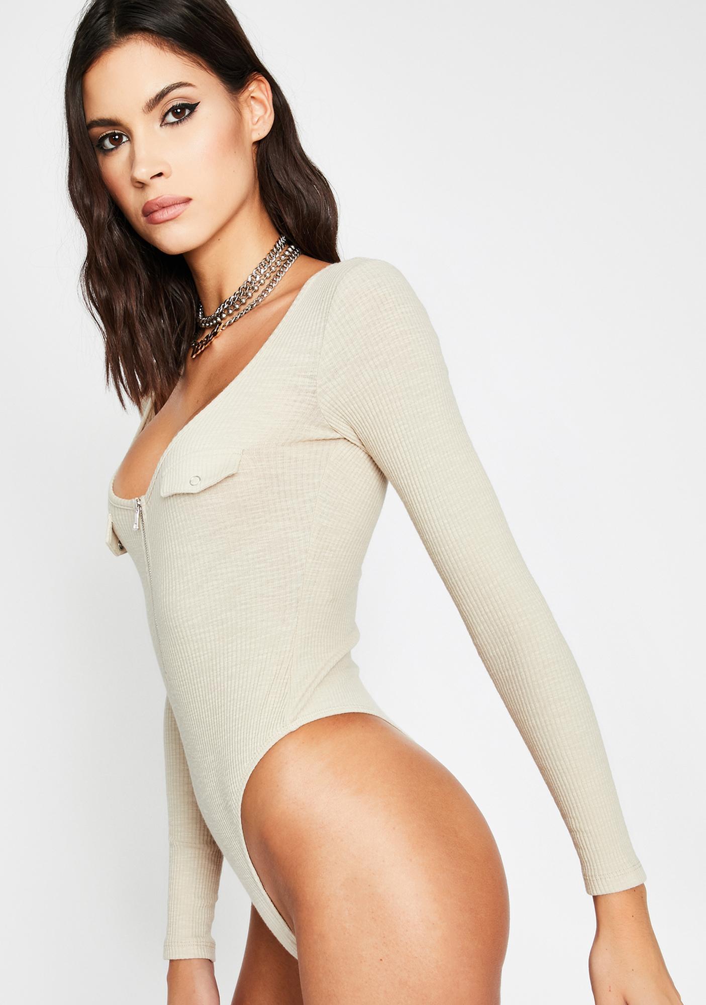 Make Moves Long Sleeve Bodysuit