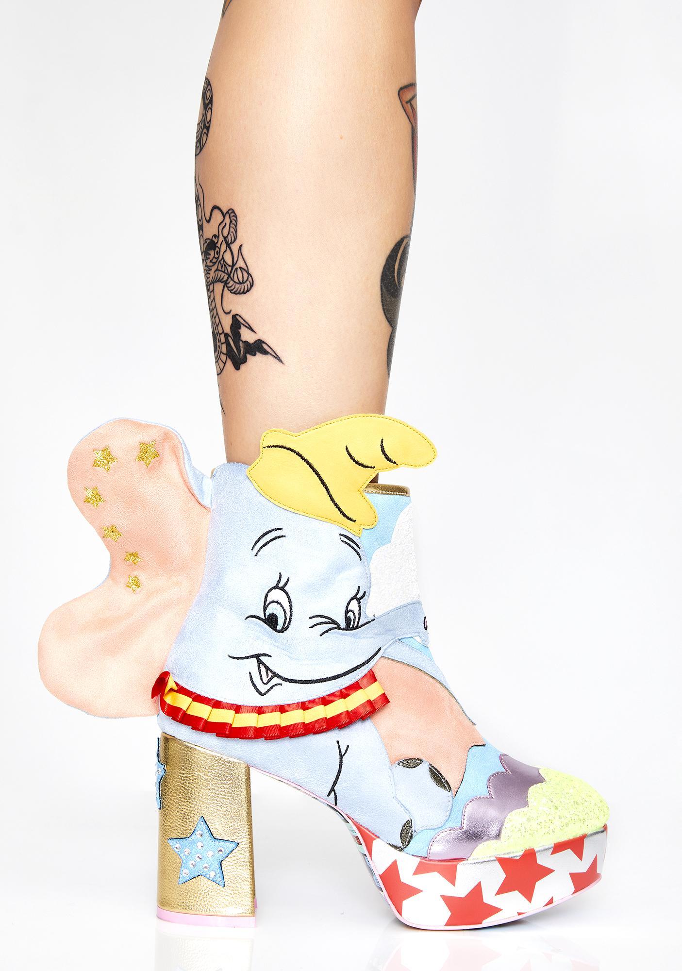 Irregular Choice Sweet Little Dumbo Booties