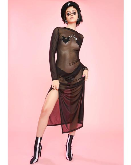 4Ever Strange Sheer Dress