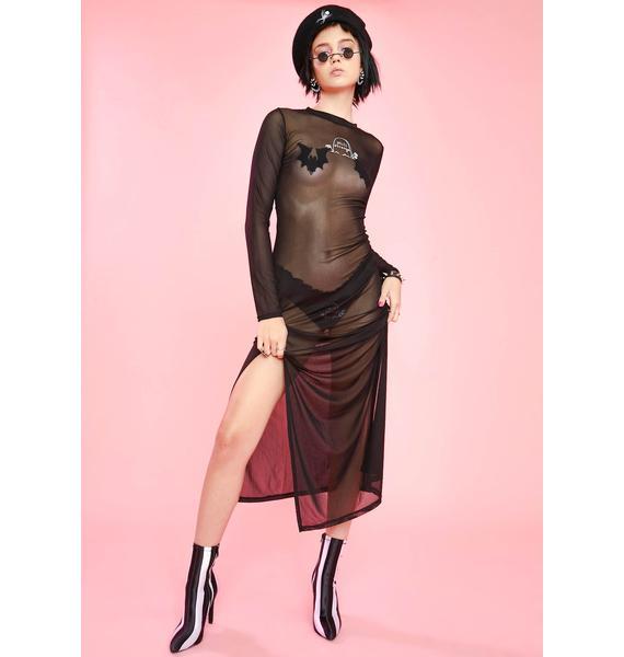 Sugar Thrillz 4Ever Strange Sheer Dress