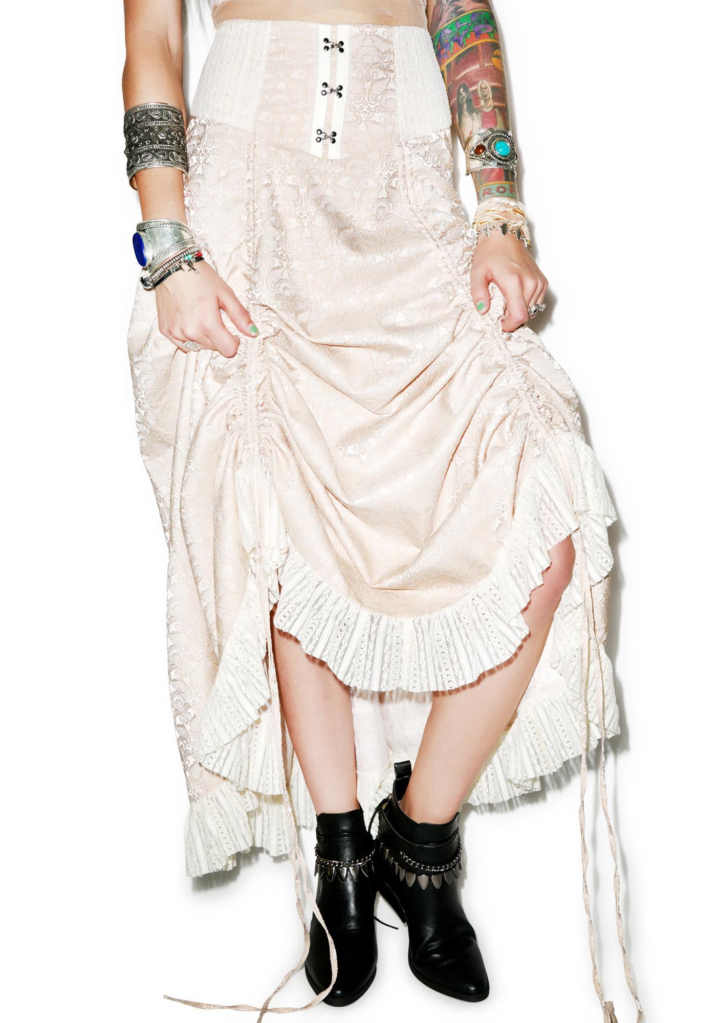 Victorian Vixen Brocade Skirt