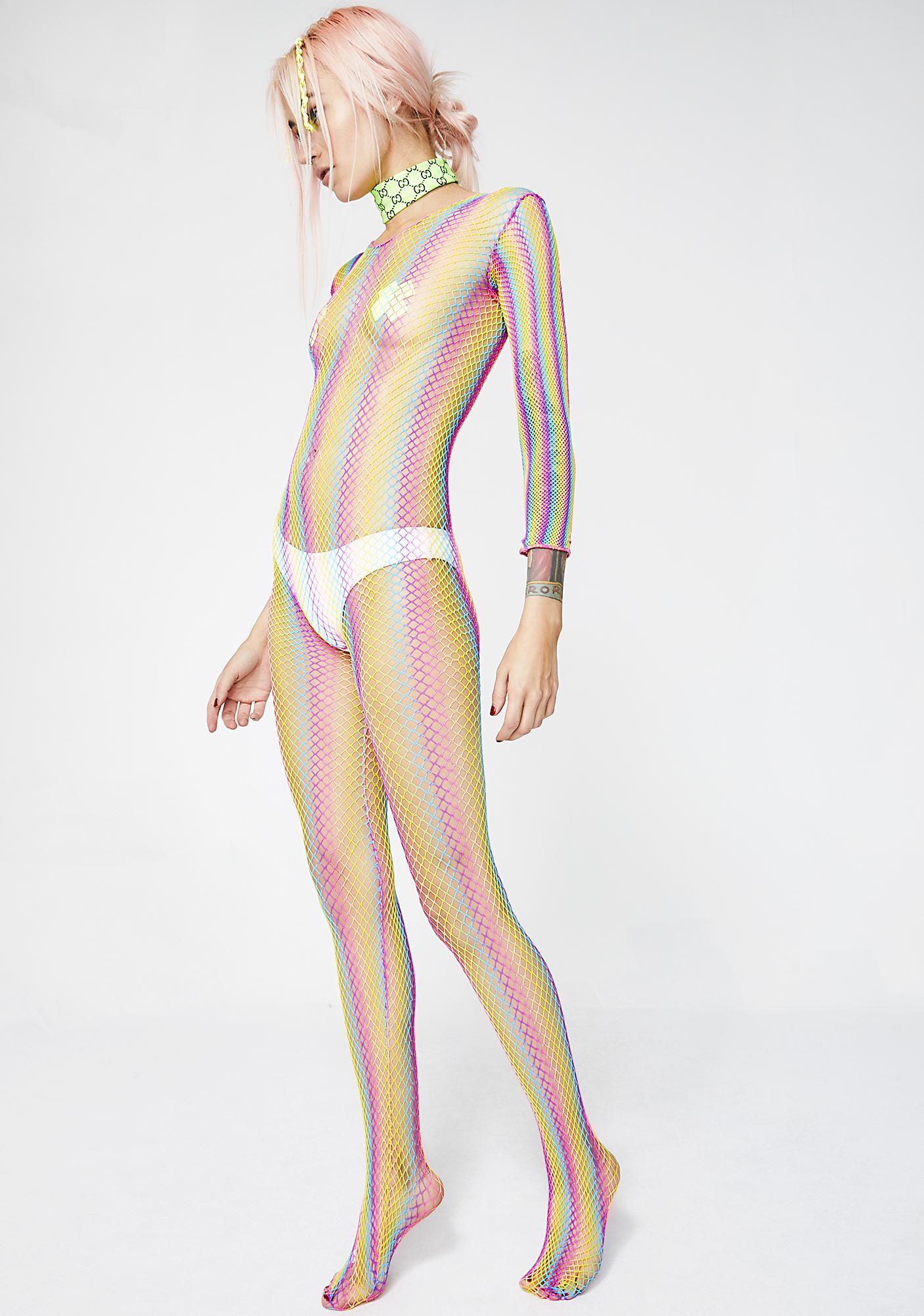 Read My Rainbows Bodystocking