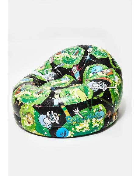 What Up My Glib Globs Inflatable Chair