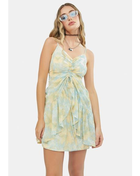 How About Now Floral Mini Dress