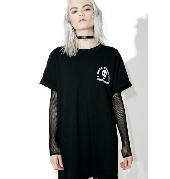 DeathxCard Apparel  Kindly F Off Tee