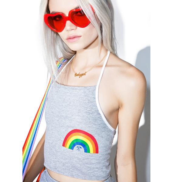 Camp Collection Little Rainbow Bralette