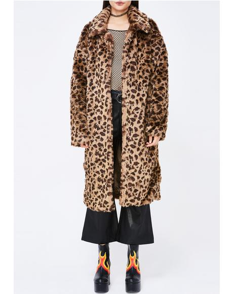 Leopard Pounce Coat