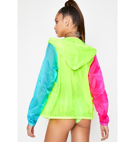 My Block Windbreaker Jacket
