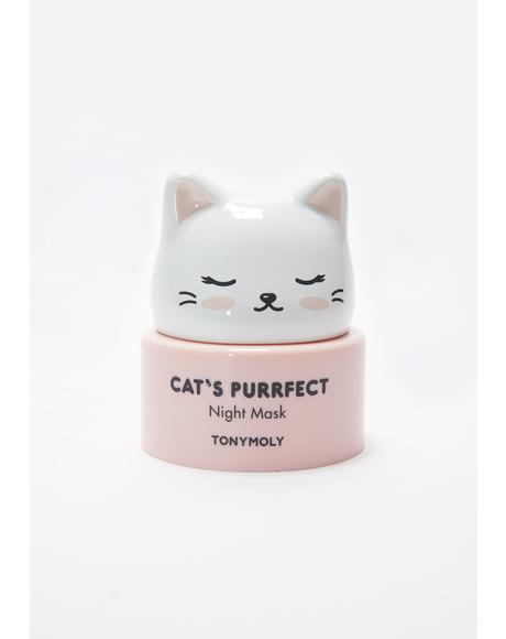 Cat's Purrfect Night Mask