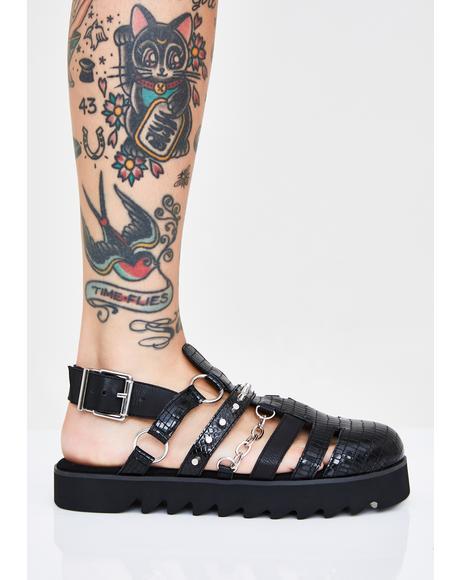 Tiberius Gladiator Sandals