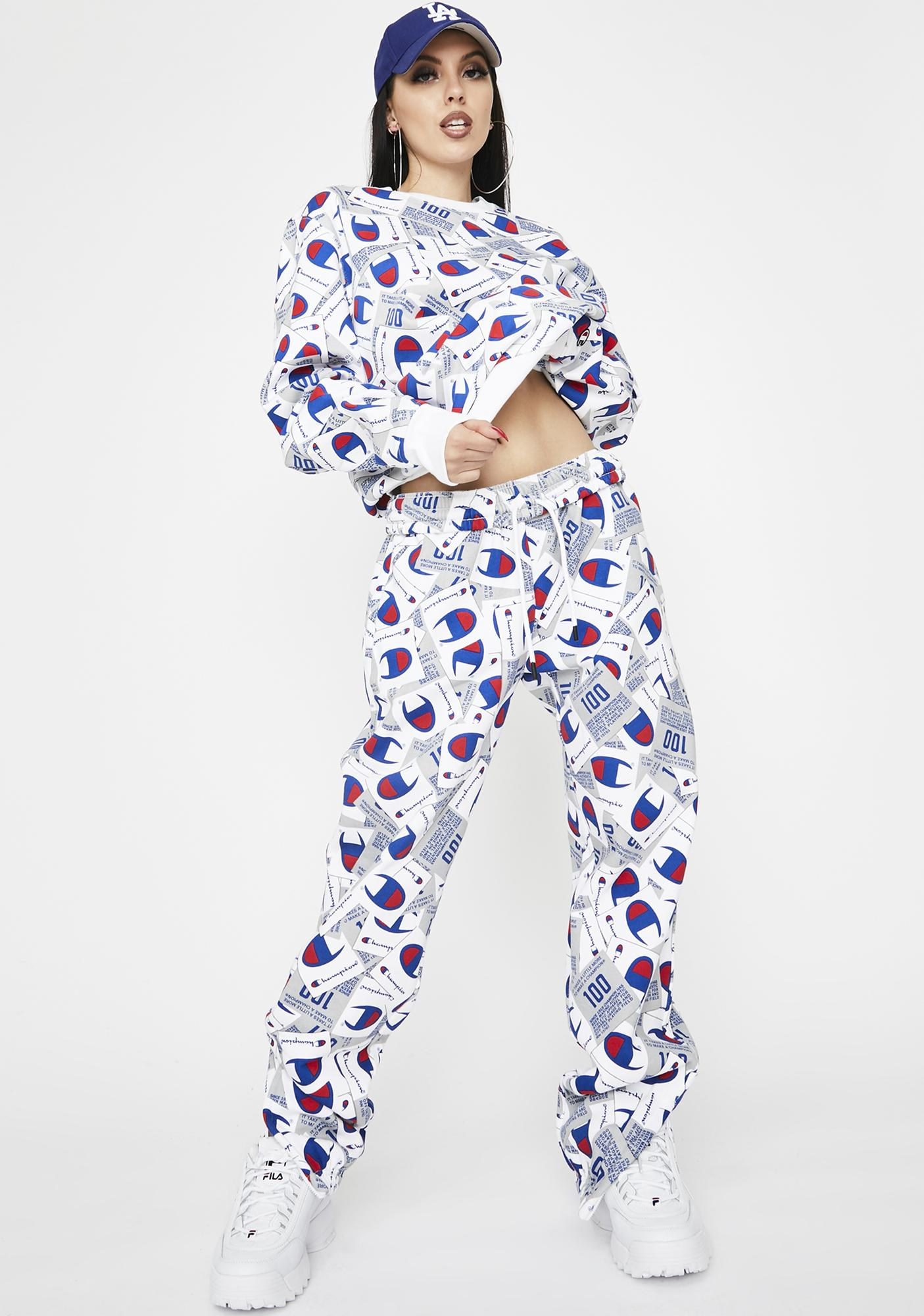 Champion All Over Print Super Fleece 2.0 Sweatpants