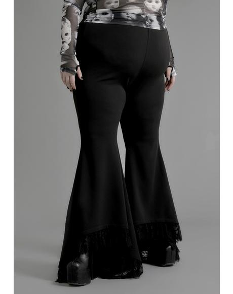 Divine Divination Lace Bell Bottoms