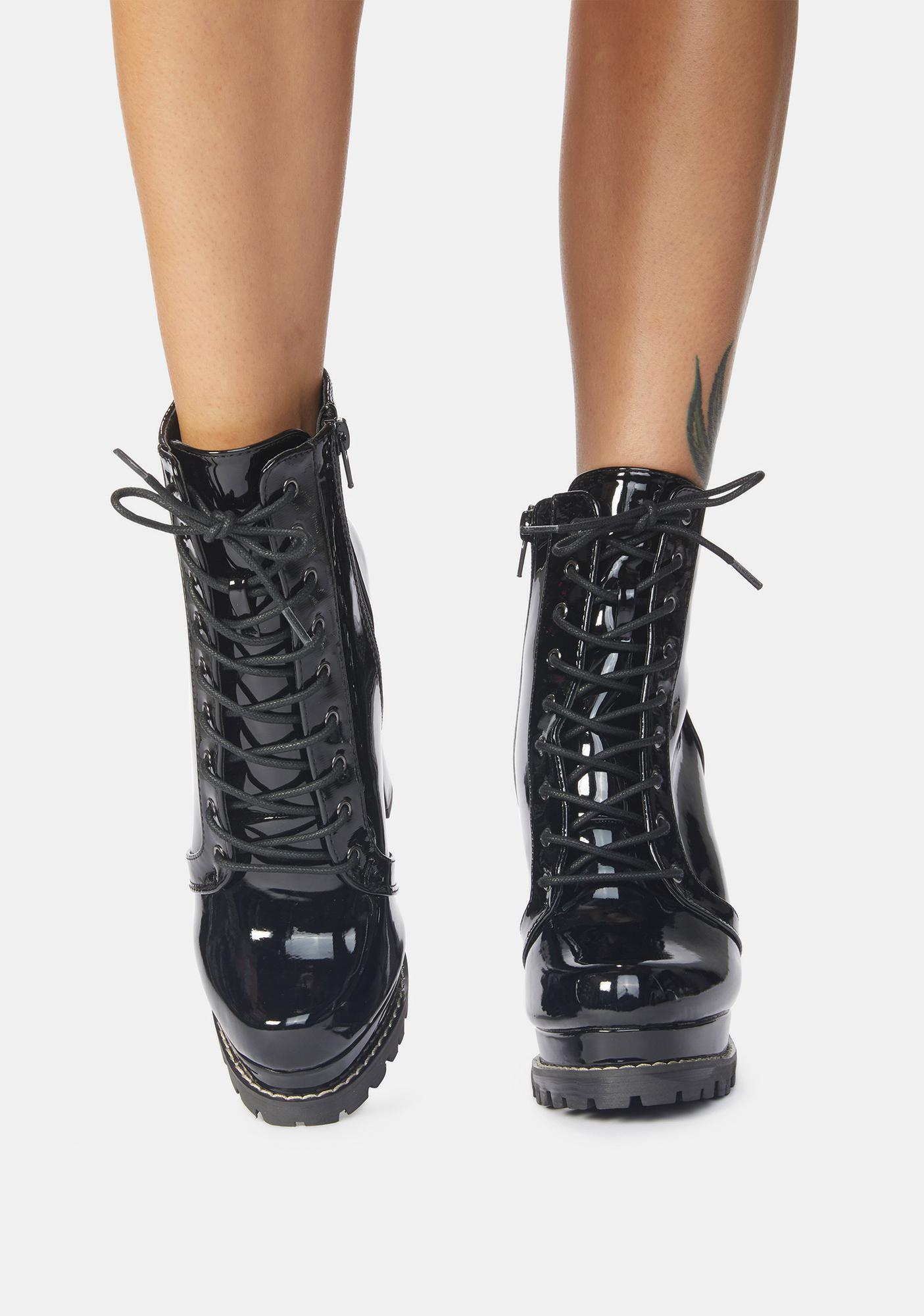 Get In Free Lace Up Ankle Boots