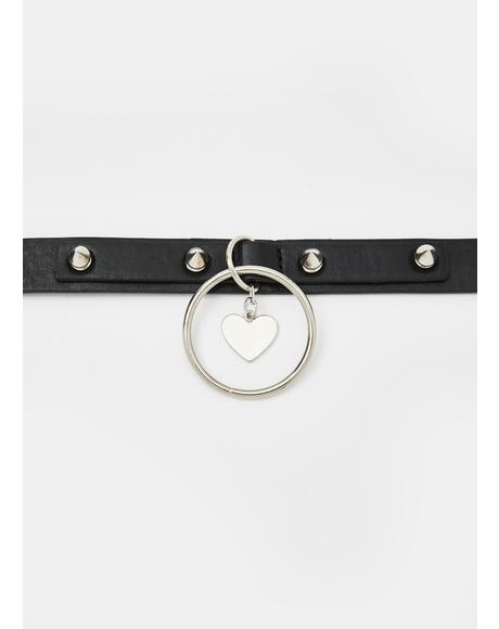 Rock Of Love O-Ring Choker