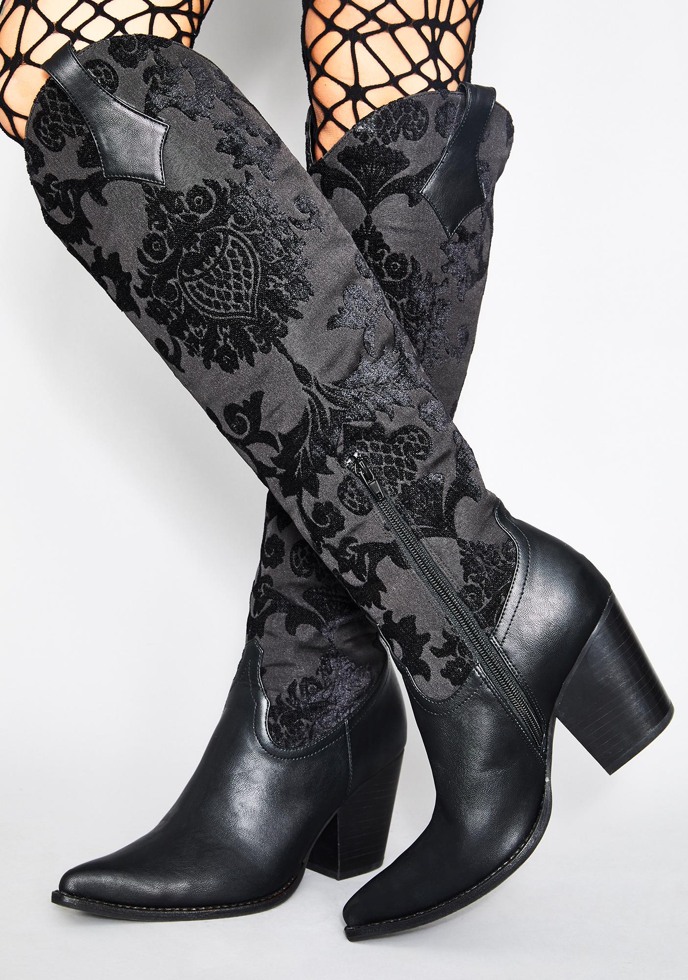 Widow Supreme Ascension Brocade Boots