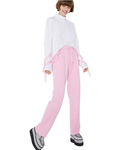 Spoilt Pink Track Pants