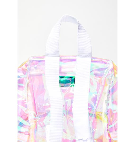 Dickies Champagne Iridescent Mini Backpack