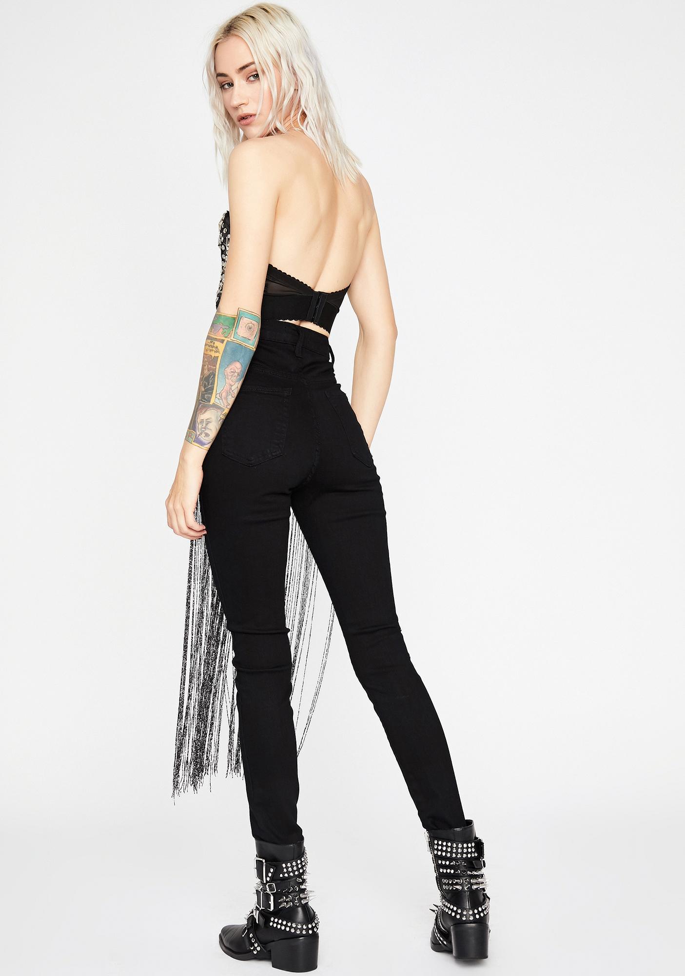 Dive Deluxe Fringe Pants