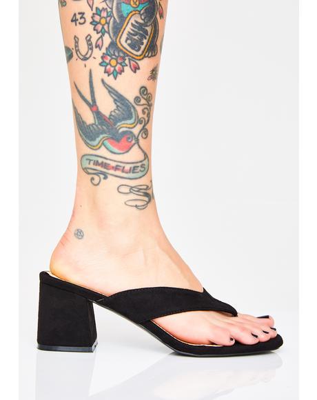 Because Thong Heels