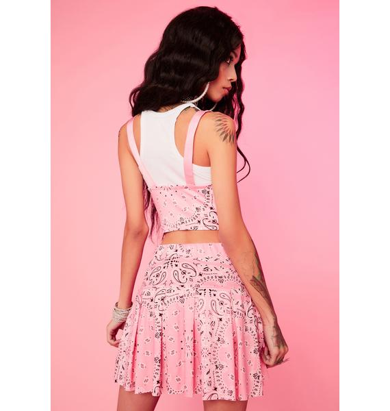 Baby Ride It Out Pleated Skirt