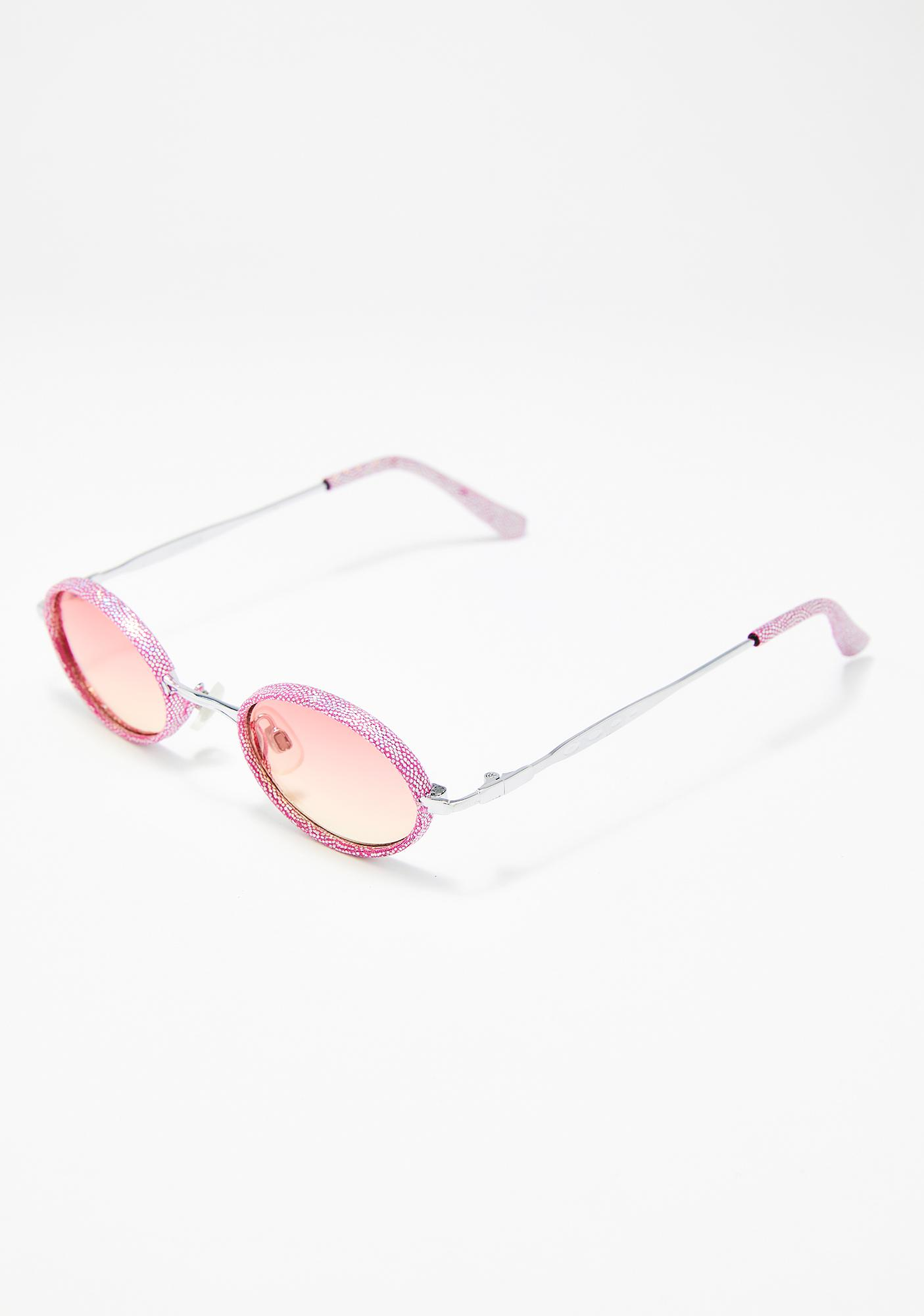 Replay Vintage Sunglasses Baby Lure Them In Glitter Sunglasses