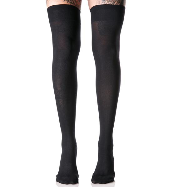 Vamp Thigh Highs
