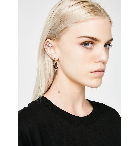 Tuggin' On Your Heartstrings Drop Earrings