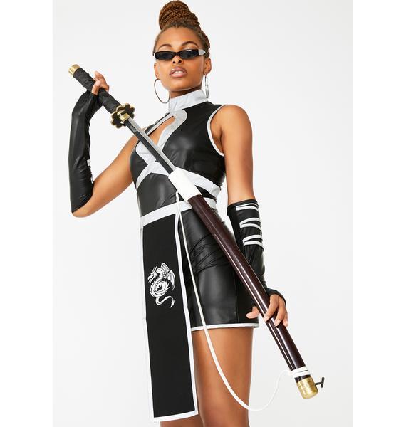 Dolls Kill Cyber Slayer Reflective Costume Set