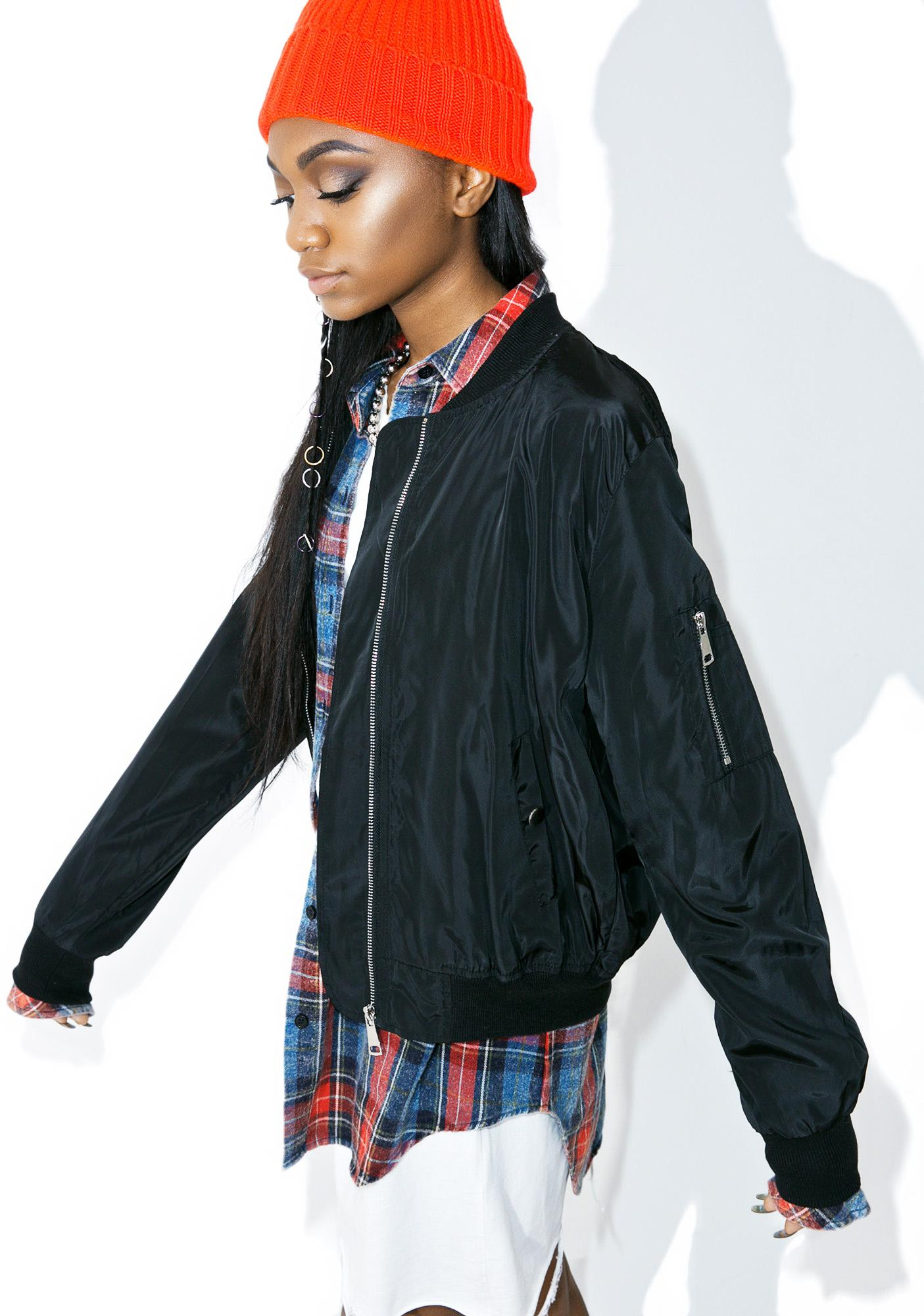 GirrlScout Fearless Bomber Jacket