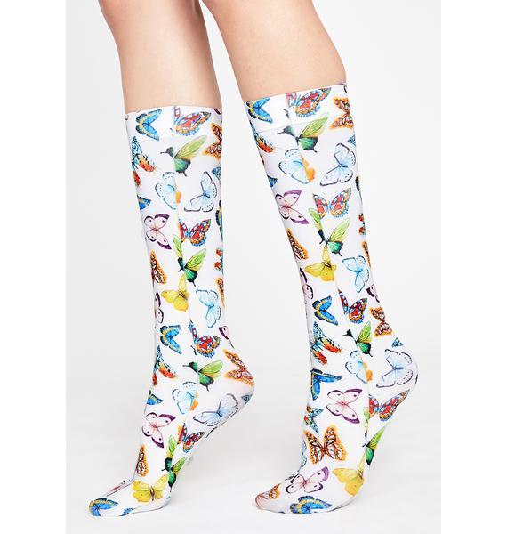 Pixie Party Graphic Socks