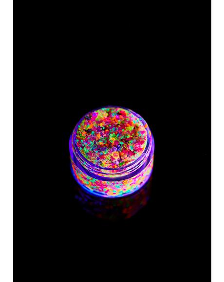 Cosmic Rainbow UV Unicorn Glitter Gel